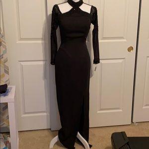 Elegant hand beaded dress